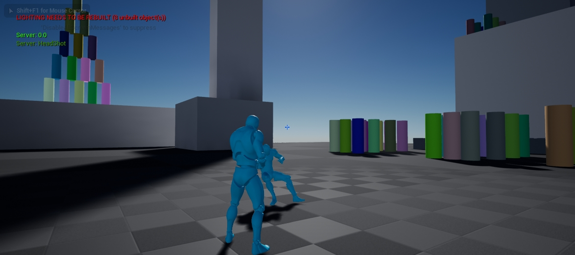 Character hitboxes in Unreal Engine 4